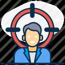 audience, customer focus, customer segmentation, focus group, target, target audience, target customer icon