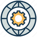 design, global tool, globe, preferences, settings, tool icon