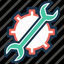 fix, options, repair, seo, settings, setup, tools icon