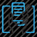 hand, mobile, smartphone icon