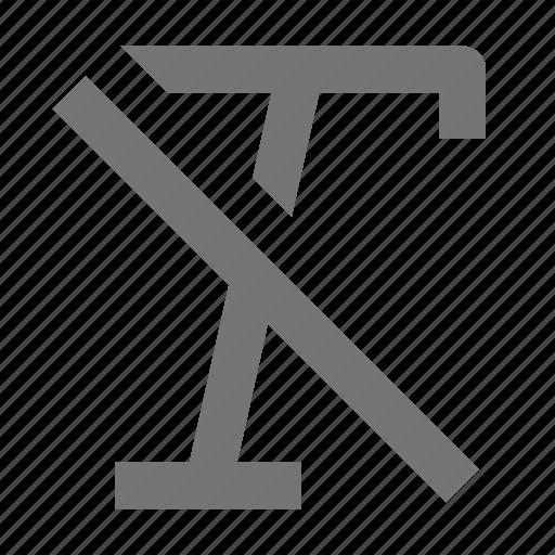 controls, document, italic, settings, strike, through, tools icon