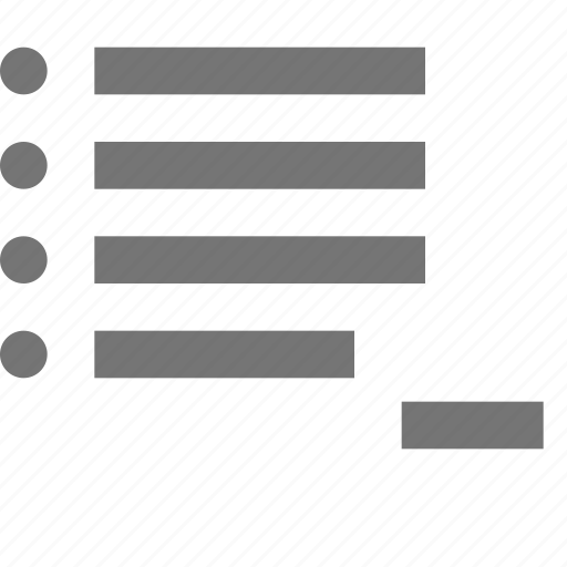 controls, document, list, minimize, minus, remove, settings, tools icon