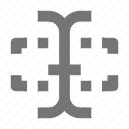 area, input, text icon