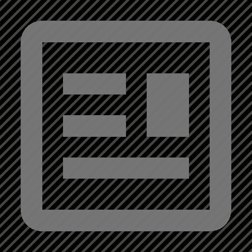 text wrap, wrap icon