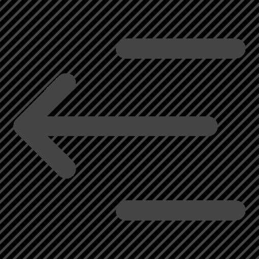 align, align left, alignment, arrow, left, move, text align icon
