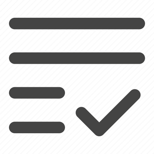 align, alignment, check, paragraph, text, text align, text edit icon