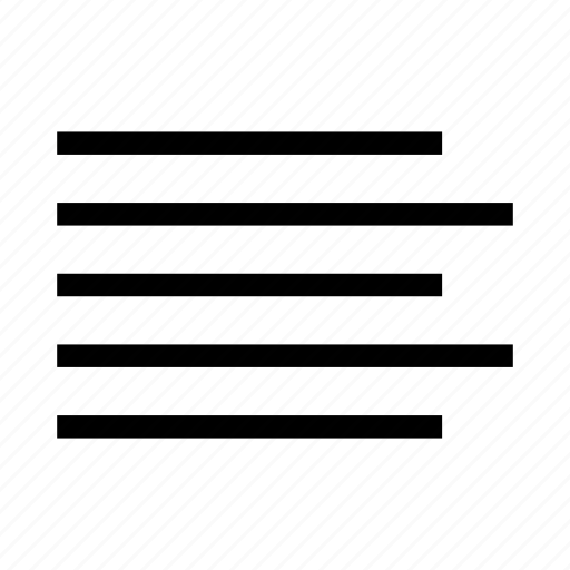 align left, edit, editing, format, left, left aligned, text icon