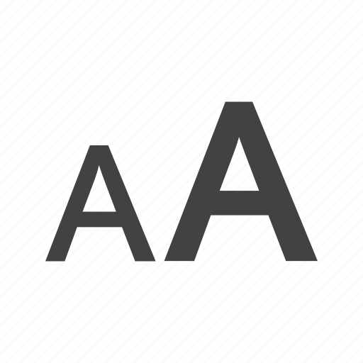 Alphabet, character, font, letter, size, text icon - Download on Iconfinder