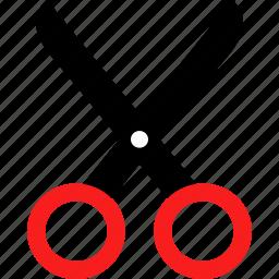 cut, cutting, scissors icon