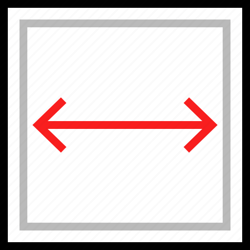block, expand, rectangle icon