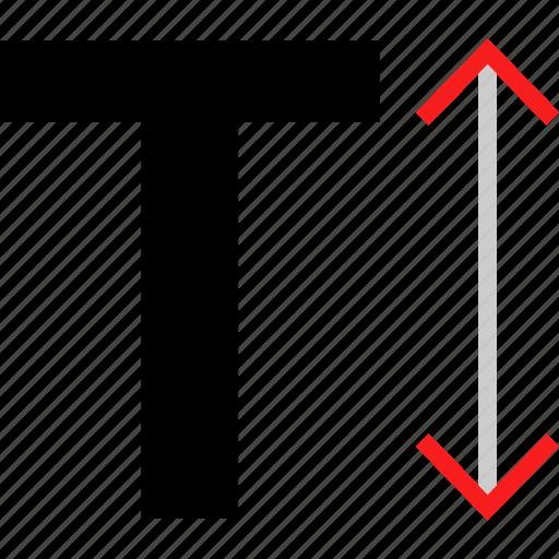 bold, measure, text icon