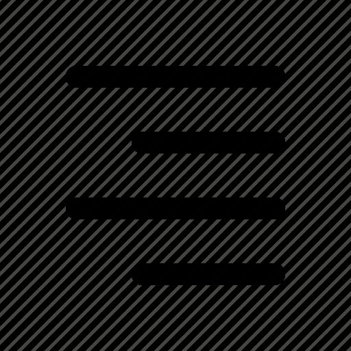 align, author, editor, right, text, write, writer icon