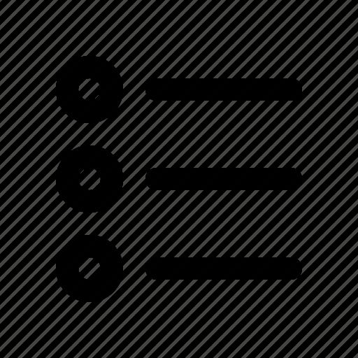 author, editor, list, round, text, write, writer icon