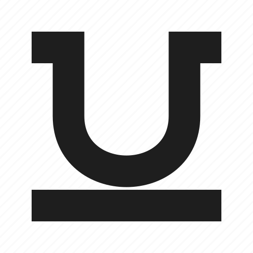 font, text, text-editor, ui, underline icon