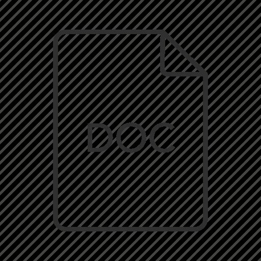 doc, doc document, doc file icon, doc format, doc icon, document file format, microsoft word document icon