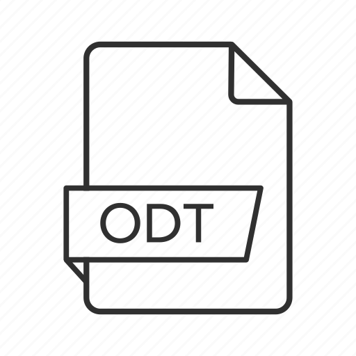 odt, odt document, odt file icon, odt format, odt icon, open document text, opendocument text document icon