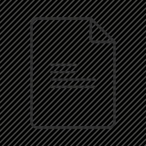 Txt document, txt file, txt file icon, txt format, txt icon, txt, plain text file icon - Download on Iconfinder
