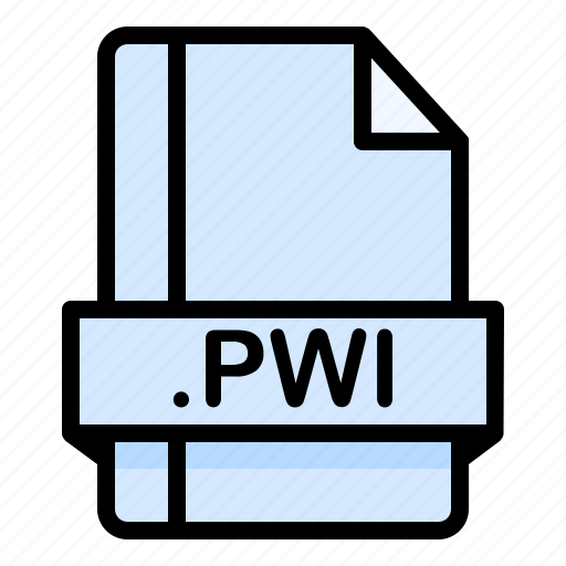 File, file extension, file format, file type, pwi icon - Download on Iconfinder