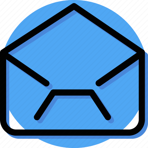 Align, mail, massage, text, type, envelope, open mail icon - Download on Iconfinder