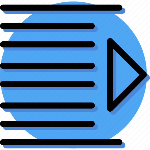 Align, contact, mail, massage, text, type, right indentation icon - Download on Iconfinder