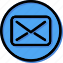 text, align, contact, mail, type, massage, envelope icon