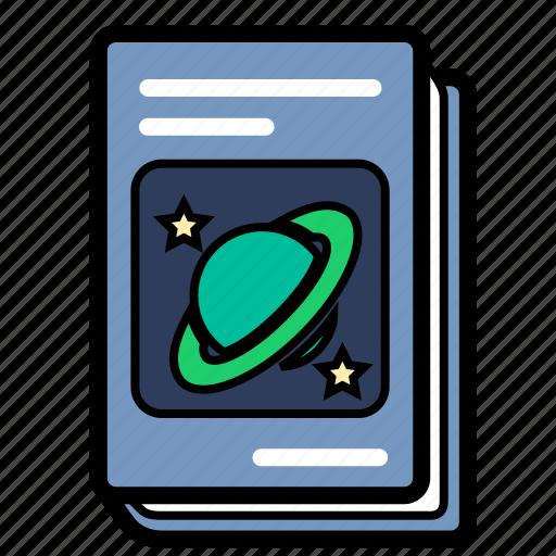 astronomy, book, physics, schoolbook, textbook icon