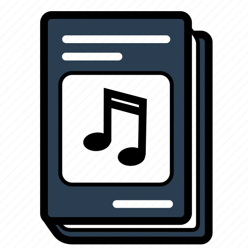 book, music, schoolbook, textbook icon