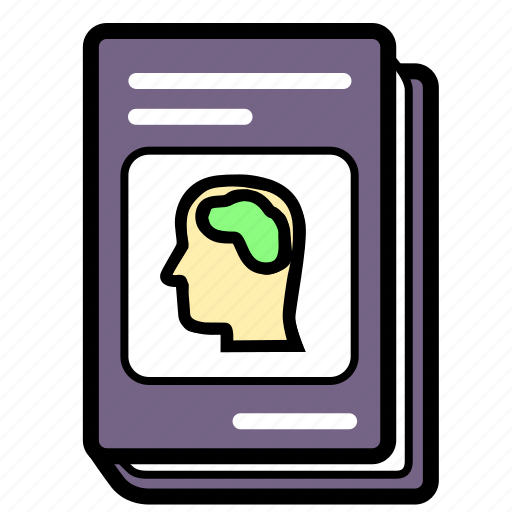 book, psychology, schoolbook, textbook icon