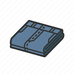 cloth, clothing, isometric, jeans, pants, pure, single icon