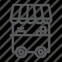 fast, food, kiosk, market, stall, stand, street