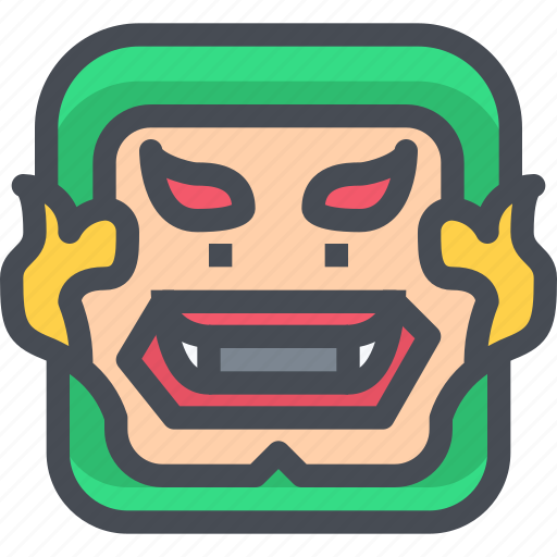 Giant, halloween, monster, scary, thai icon - Download on Iconfinder