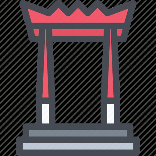 building, giant, landmark, swing, thai icon