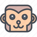 ace, animalf, avatar, monkey icon