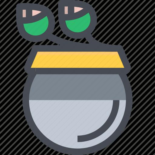 Bowl, flower, monk, thai icon - Download on Iconfinder