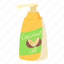cartoon, coconut oil, cream, lotion, screen, sun, suntan icon