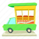 auto, cartoon, india, indian taxi, rickshaw, taxi, travel icon