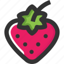 berries, cherries, food, fruits icon