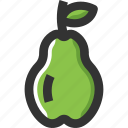 food, fruits, healthy, pear