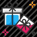 gift, gift box, gift card icon