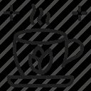 green tea, hot tea, tea icon
