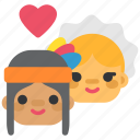 autumn, indian, love, peace, pilgrim, thanksgiving icon