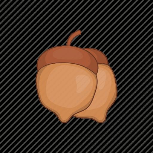 Acorn, autumn, cartoon, design, nature, sign, tree icon - Download on Iconfinder