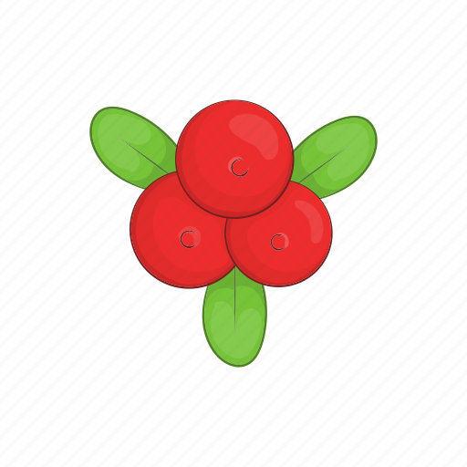 berry, cartoon, cowberry, food, healthy, red, vitamin icon