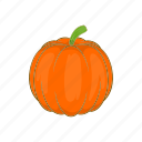 autumn, cartoon, halloween, pumpkin, season, vegetable icon