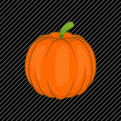 autumn, cartoon, halloween, pumpkin, season, vegetable icon