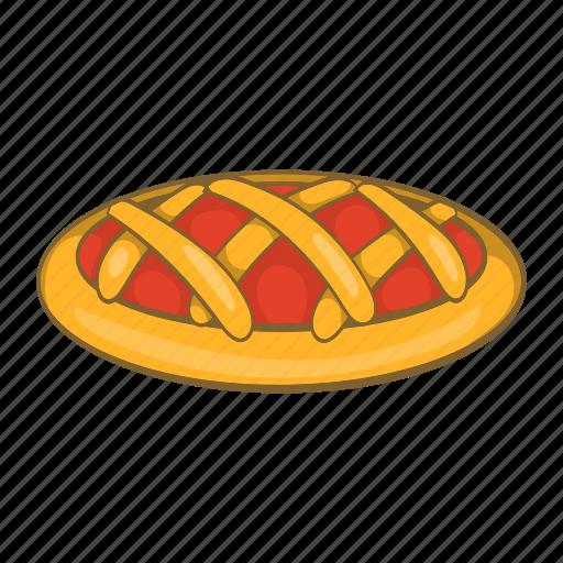 Cartoon, cherry, delicious, dessert, food, holiday, pie icon - Download on Iconfinder
