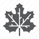 autumn, canada, leaf, maple, nature, tree icon
