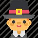 autumn, boy, immigrant, man, thanksgiving