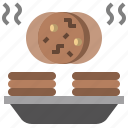 bakery, biscuit, cookie, dessert, food, restaurant, snack icon