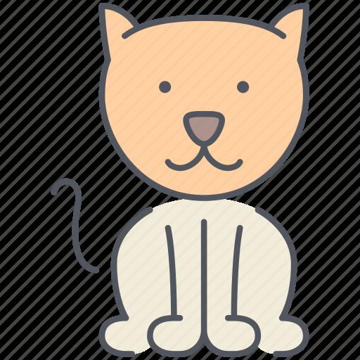 animal, cat, domestic, kitten, pet, rural, village icon